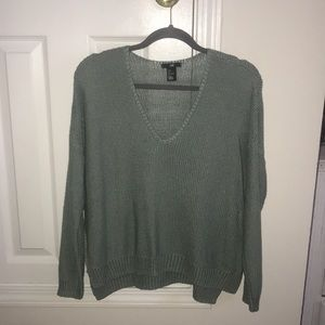 Mint loose fit sweater